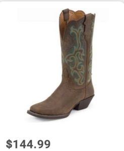 JUSTIN BOOTS💕Women's 12 inch Stampede Collection